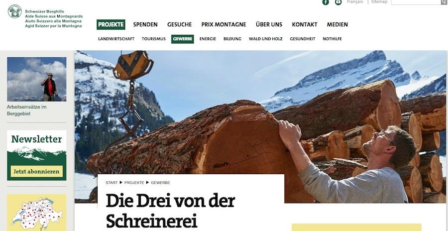 Der Artikel in der Berghilfe Zeitung